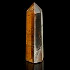 Призма из камня. Чёрный петерсит от 20х65мм/75г:коробка