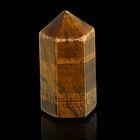 Призма из камня. Чёрный петерсит от 12х33мм/16г:коробка