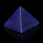 Пирамида из камня. Голубой кварц от 28х19мм/20г: коробка