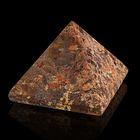 Пирамида из камня. Звёздный камень от 28х19мм/20г: коробка
