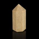 Призма из камня. Окаменелый коралл от 12х33мм/16г:коробка