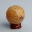 Шар из камня. Дымчатый кварц от 48мм/200г: подставка, коробка