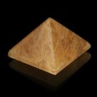 Пирамида из камня. Дымчатый кварц от 28х19мм/20г: коробка