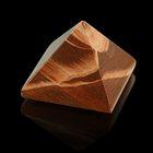 Пирамида из камня. Яшма Зебра от 28х19мм/20г: коробка