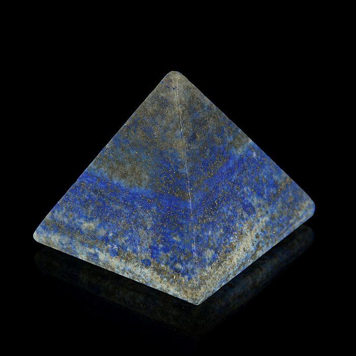 Пирамида из камня. Лазурит от 38х33мм/80г: коробка