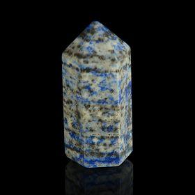 Prism stone. Lapis lazuli from 12x33mm / 16g: carton.