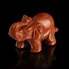 Фигурка слона от 48х32мм/38г, авантюрин
