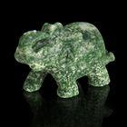 Фигурка слона от 48х32мм/38г, жадеит