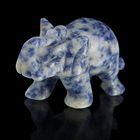 Фигурка слона от 48х32мм/38г, содалит