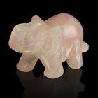 Фигурка слона от 48х32мм/38г, кварц