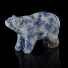 Фигурка медведя от 48х32мм/38г, содалит