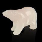 Фигурка медведя от 48х32мм/38г, кварц