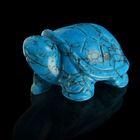 Фигурка черепахи от 49х32мм/48г, бирюза