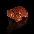 Фигурка черепахи от 49х32мм/48г, авантюрин