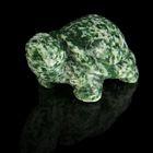 Фигурка черепахи от 49х32мм/48г, жадеит