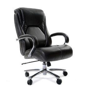 Кресло руководителя Chairman СН 402 PU, экокожа белое Ош