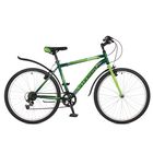 "Велосипед 26"" Stinger Defender, 2017, цвет зелёный, размер 18"""