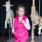 """Жилет для девочки """"REGGIE"""", рост 134 см, цвет розовый CS17-05"""