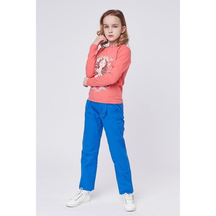 Джемпер для девочки, рост 128 (68) см, цвет коралловый