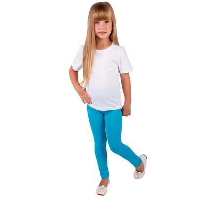 """Легинсы для девочки """"Волшебная радуга"""", рост 122 см (62), цвет бирюзовый ДРЛ894804"""