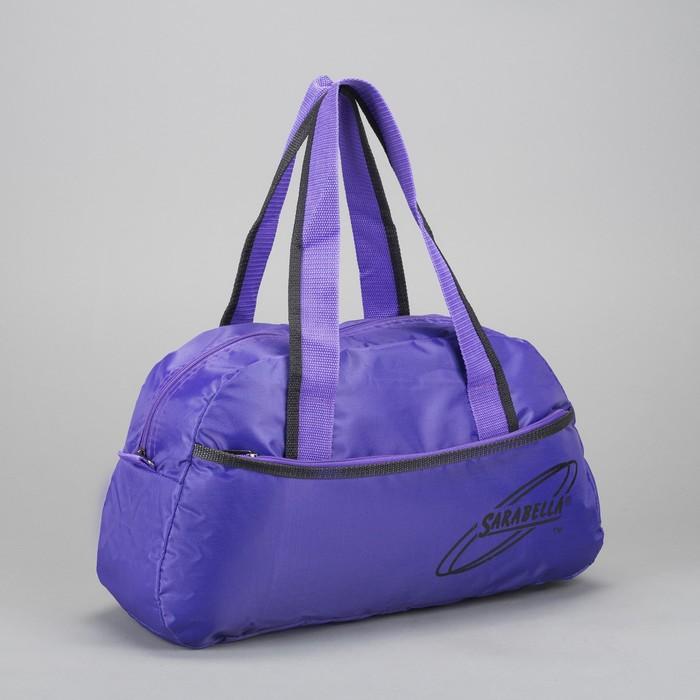 Сумка спортивная, 1 отдел на молнии, цвет фиолетовый