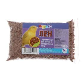 Корм 'Семя льна' для птиц, 100 г Ош