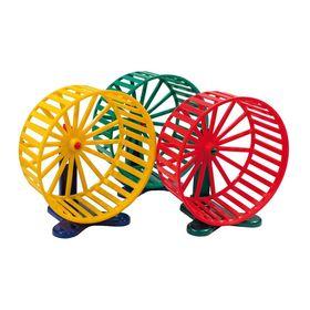 Игрушка RP Колесо d=14см пластик с подставкой для грызунов