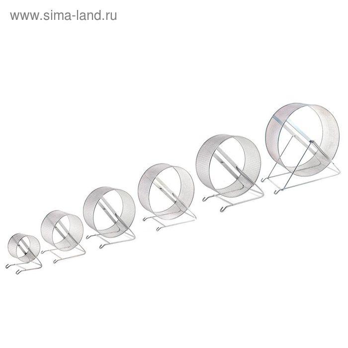 Игрушка RP Колесо d=30см металл,  для грызунов , сетка