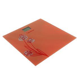 Весы напольные HOMESTAR HS-6001A, электронные, до 180 кг, оранжевые