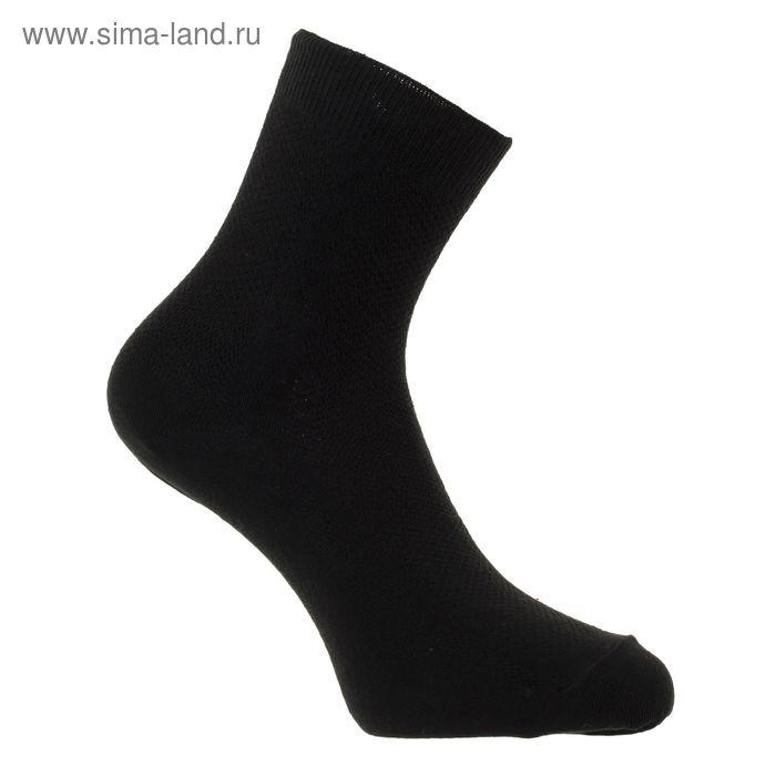 Носки мужские,w410, черный, р-р 25