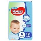 Подгузники Ультра-Комфорт Convenience Pack для мальчиков, размер 4, 8-14 кг, 19 шт