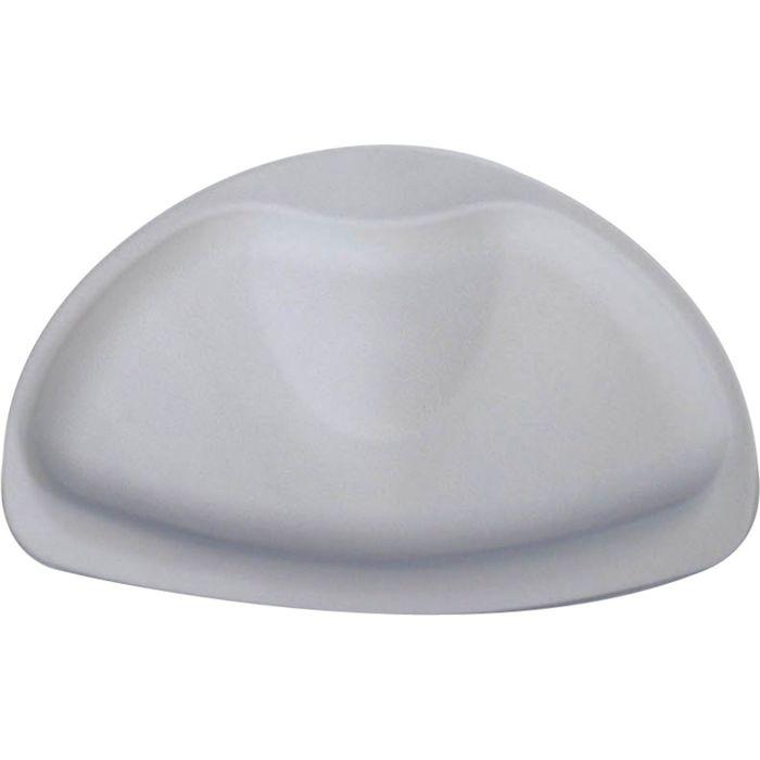 Подголовник для ванны, цвет серый