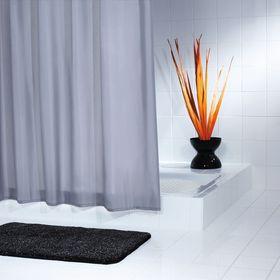 Штора для ванных комнат Madison, цвет серый/серебряный