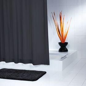 Штора для ванных комнат Madison, цвет черный