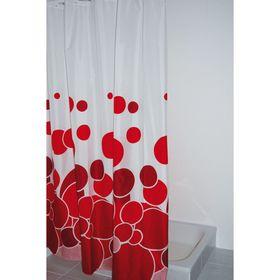 Штора для ванных комнат Kani, цвет красный