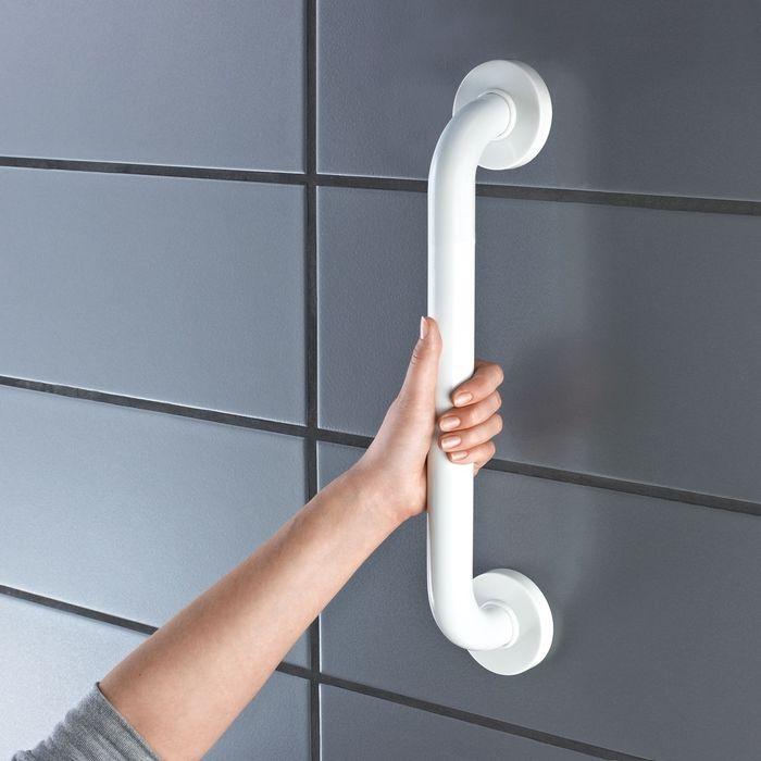 Поручень для ванны, цвет белый  (60 см)