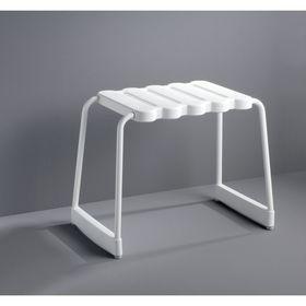 Табурет для ванны, цвет белый