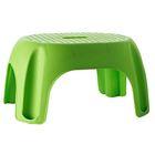 Табурет в ванну Promo, цвет зеленый