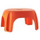Табурет в ванну Promo, цвет оранжевый