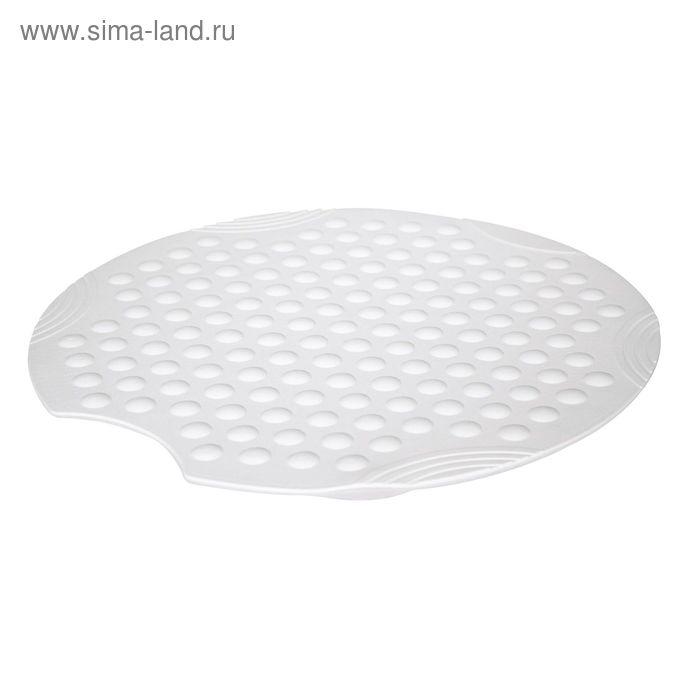 SPA-коврик противоскользящий Tecno+, цвет белый