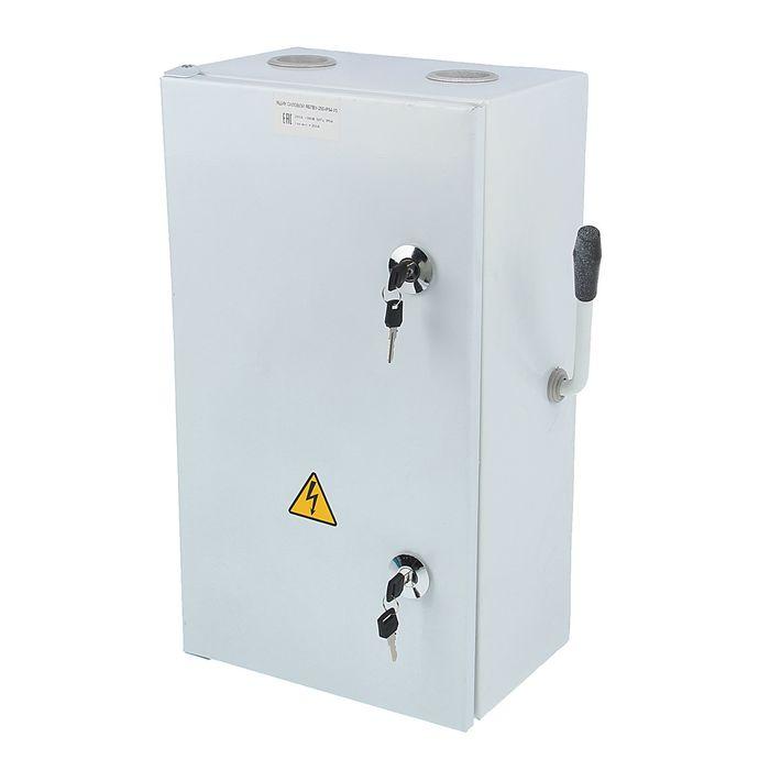 """Ящик с блоком """"рубильник-предохранитель"""" TDM ЯБПВУ, 250А, IP 54, народный, SQ1603-0006"""