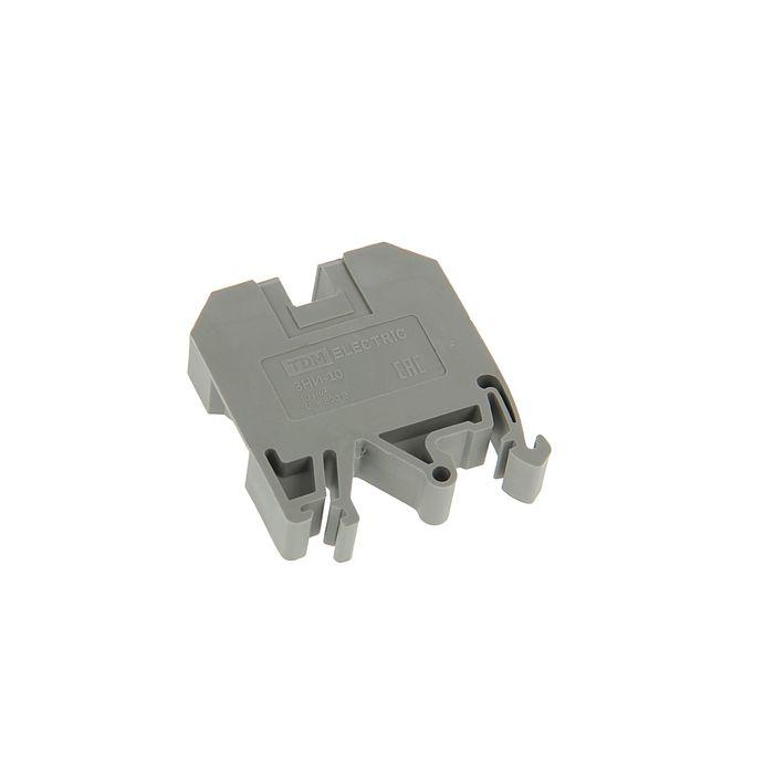 Зажим наборный TDM ЗНИ-10мм2, 70 А, серый, SQ0803-0005