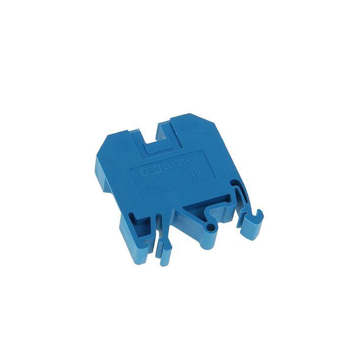 Зажим наборный TDM ЗНИ-10мм2, 70 А, синий, SQ0803-0006