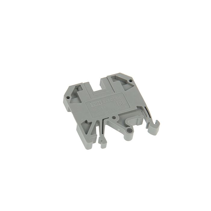 Зажим наборный TDM ЗНИ-2.5 мм2, 25 А, серый, SQ0803-0029