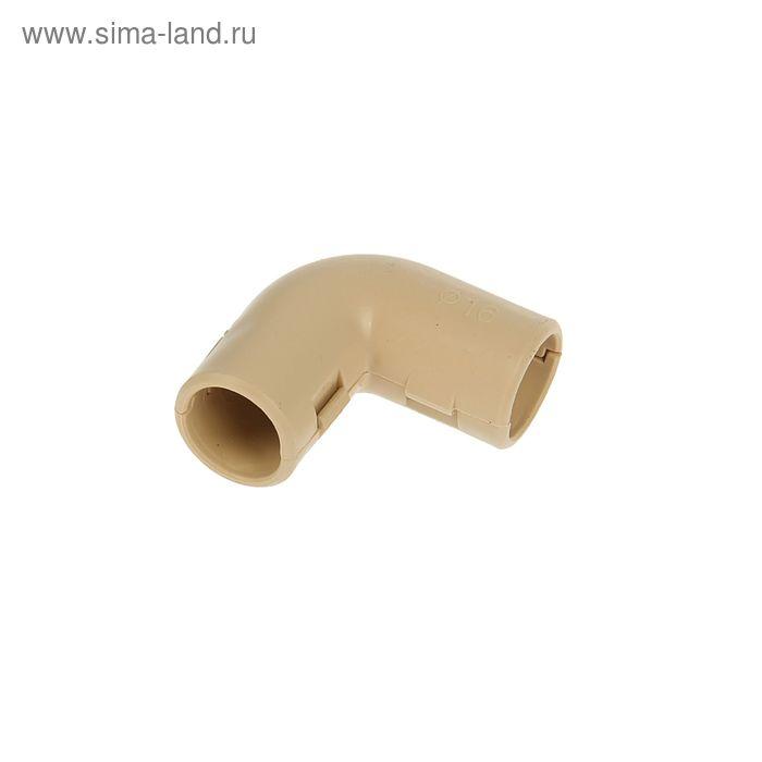 Угол 90 соединительный для трубы TDM, d=16 мм, цвет сосна, SQ0405-1531