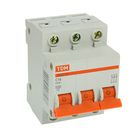 Выключатель автоматический TDM ВА47-63, 3п, 16 А, 4.5 кА, SQ0218-0019