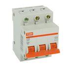 Выключатель автоматический TDM ВА47-63, 3п, 32 А, 4.5 кА, SQ0218-0022