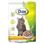 Влажный корм DAX для кошек, курица в соусе, пауч., 100 г.