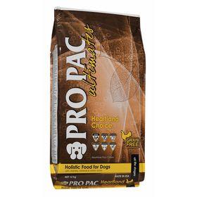 Сухой корм Pro Pac Ultimates Holistic беззерновой, курица/картофель, 12 кг.
