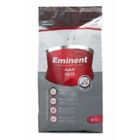 Сухой корм Eminent Adult 26/15 для собак мелких и средних пород, 3 кг.